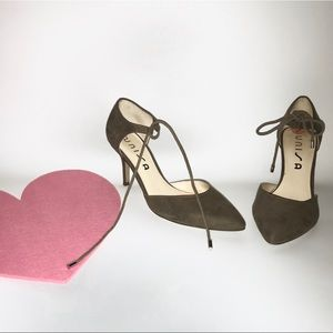 Unisa Laced heel pumps
